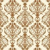 Baroque tile, vector illustration Stock Photo