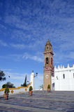 Baroque tower and shrine Royalty Free Stock Images