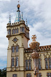 Baroque tower of Town Hall of Sintra, Portugal Royalty Free Stock Image