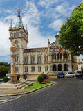 Baroque tower of Town Hall of Sintra, Portugal Stock Photo
