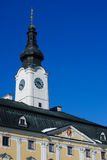 Policka, Czech republic. Baroque town hall in Policka, Czech republic Stock Photos