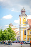 Baroque Transfiguration Church in Cluj-Napoca Royalty Free Stock Images