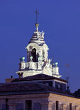 Baroque University tower, Catania, Sicily, Italy Stock Photo