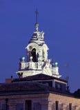 Baroque University tower, Catania, Sicily, Italy stock photo