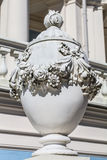 Baroque vase in homestead Oranienbaum, Russia Royalty Free Stock Photo
