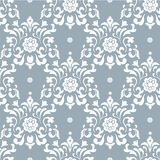 Baroque vector background Royalty Free Stock Image