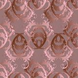 Baroque surface ornaments Stock Images