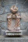Baroque wall fountain Stock Photos