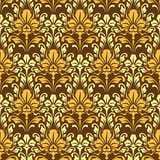 Baroque wallpaper Royalty Free Stock Photo