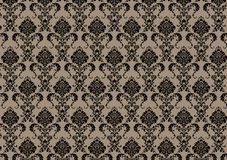 Baroque wallpaper Stock Photo