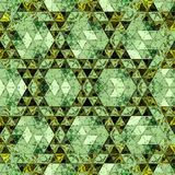 Baroque wallpaper in continuous ornament. Trendy print in green color. Scarf pattern. Baroque wallpaper in continuous ornament. Trendy print in green color stock photography