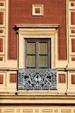 Baroque window in Sevilla Stock Photography