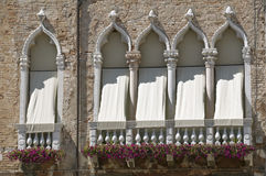 Baroque windows Royalty Free Stock Images