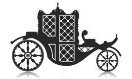 Barouche do vetor ilustração royalty free