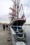 Barque Sedov Saint-Petersburg Royalty Free Stock Photos