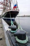 Barque Sedov Saint-Petersburg Royalty Free Stock Photo