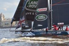 Barqueiros da competição no verão Imagens de Stock Royalty Free