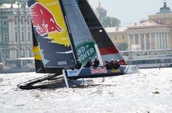Barqueiros da competição no verão Imagem de Stock