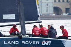 Barqueiros da competição no verão Imagem de Stock Royalty Free