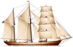 Free Barquentine, Sailing Vessel Royalty Free Stock Images - 96320799