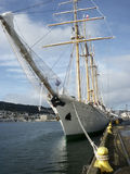 Barquentine Tall Ship Esmeralda Stock Photography