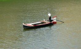 Barquero en Italia Imágenes de archivo libres de regalías
