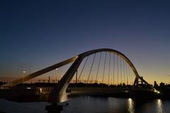 Barqueta s桥梁在塞维利亚 库存照片