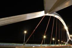 Barqueta s桥梁在塞维利亚 图库摄影