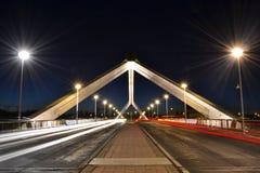Barqueta s桥梁在塞维利亚 免版税图库摄影