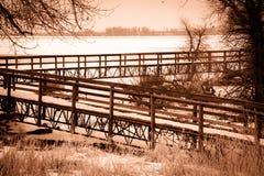 barr湖公园状态 免版税图库摄影