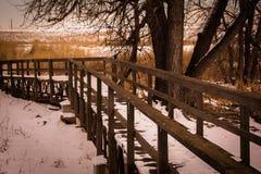 barr湖公园状态 库存照片
