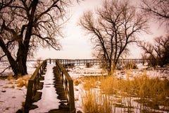 barr κράτος πάρκων λιμνών Στοκ Εικόνα