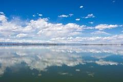 Barr Lake State Park i Brighton, Colorado royaltyfri foto