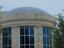 Barr-McMillion Natatorium budowy wschodu kampus Fotografia Stock
