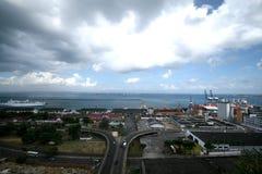 Barra Beach in Salvador, Bahia - Brazil, January 2017 Royalty Free Stock Images