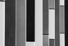 Barra in bianco e nero immagini stock