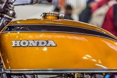 BARRA BONITA, BRÉSIL - 17 JUIN 2017 : Moto i de Honda de vintage Images stock