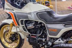 BARRA BONITA, BRÉSIL - 17 JUIN 2017 : Moto i de Honda de vintage Photo stock