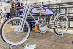 BARRA BONITA, BRÉSIL - 17 JUIN 2017 : Vintage Harley-Davidson MOIS Image stock