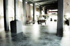 Barra borrada do caffe do piano do jazz Fotografia de Stock Royalty Free