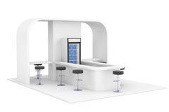 Barra, café, bar, conceito do interior do fast food rendição 3d Imagens de Stock Royalty Free