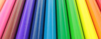 Barra colorida de los lápices Imagen de archivo