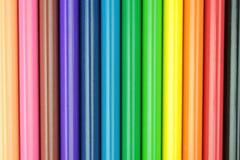Barra colorida de los lápices Imagenes de archivo