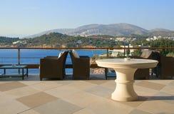 Barra com uma vista Fotos de Stock Royalty Free