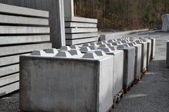Barra concreta Fotografía de archivo libre de regalías
