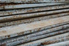 Barra d'acciaio Fotografie Stock