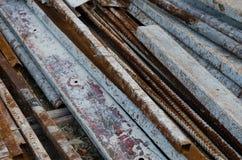 Barra d'acciaio immagini stock