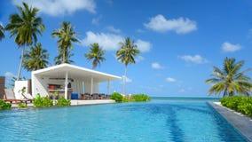 A piscina bonita Fotografia de Stock