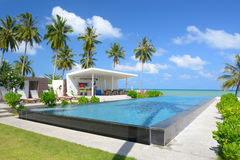 A piscina bonita Imagem de Stock Royalty Free