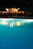 Barra da associação do recurso de férias do feriado na noite Fotos de Stock